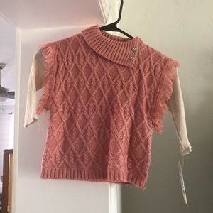 NWT months girls outfit